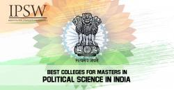 Best Colleges For Online Masters in Political Science India